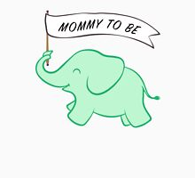 Green Elephant Mommy to Be Unisex T-Shirt