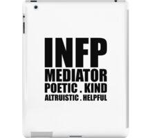 INFP Mediator Introvert iPad Case/Skin