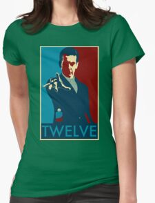 Peter Capaldi Hope Poster Womens Fitted T-Shirt