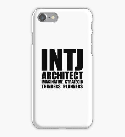 INTJ Architect Introvert iPhone Case/Skin