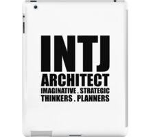 INTJ Architect Introvert iPad Case/Skin