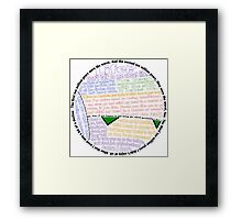 Hitchhiker's Guide Marvin Quotes Framed Print
