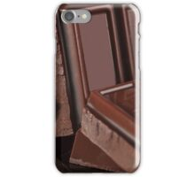 Chocolate quater ounce squares iPhone Case/Skin