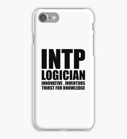 INTP Logician Introvert iPhone Case/Skin