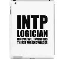 INTP Logician Introvert iPad Case/Skin