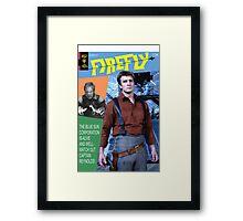 Firefly Vintage Comics Cover Framed Print