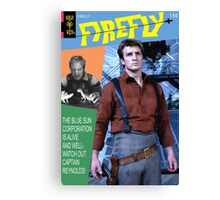 Firefly Vintage Comics Cover Canvas Print