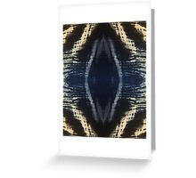 Black Abstract Greeting Card
