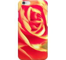 Abstract Peach Rose iPhone Case/Skin