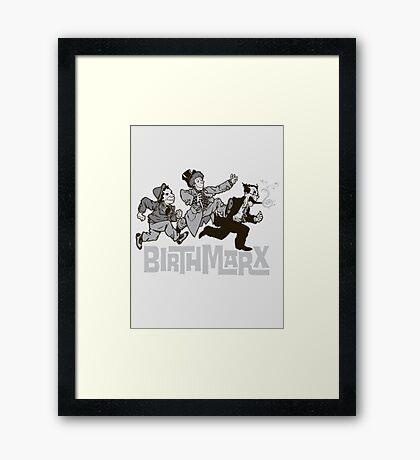 BirthMarx Framed Print