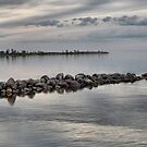 Winnipeg Beach shoreline - view 1 by kenspics