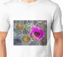 Buds and Bloom of the Hedghog Cactus Unisex T-Shirt