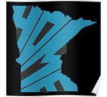 Minnesota HOME state design Poster