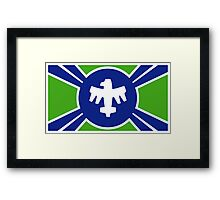United Citizen Federation Flag Framed Print