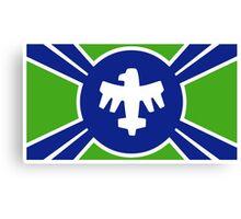 United Citizen Federation Flag Canvas Print