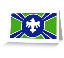 United Citizen Federation Flag Greeting Card