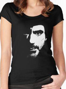 SHerlock Face fades Women's Fitted Scoop T-Shirt