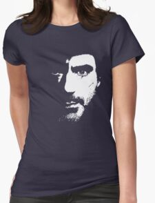 SHerlock Face fades Womens Fitted T-Shirt
