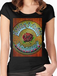 American Beauty Women's Fitted Scoop T-Shirt