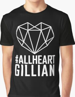 #AllHeartGillian - Wire on Black  Graphic T-Shirt