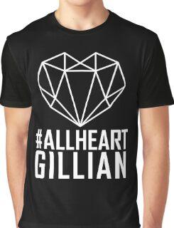 #AllHeartGillian - Wire on Black  Graphic T-Shirt
