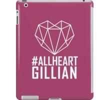 #AllHeartGillian - Wire on Black  iPad Case/Skin