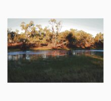 Early morning Camooweal Billabong Queensland Baby Tee