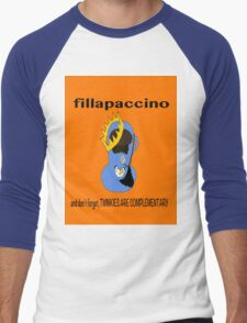 Fillapaccino Men's Baseball ¾ T-Shirt
