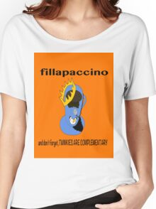 Fillapaccino Women's Relaxed Fit T-Shirt