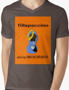 Fillapaccino Mens V-Neck T-Shirt