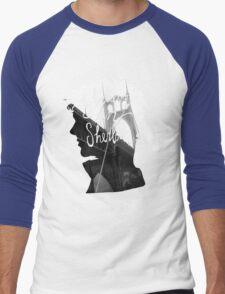 are u believe in sherlock? Men's Baseball ¾ T-Shirt