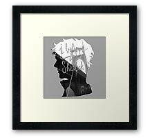 are u believe in sherlock? Framed Print