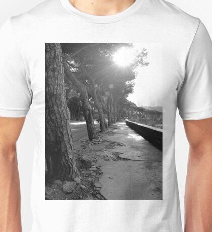Light Through the Trees Unisex T-Shirt