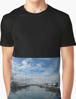 Nelson Bay Harbour Graphic T-Shirt