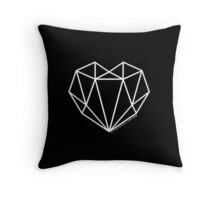 #AllHeartGillian - Wireframe Throw Pillow