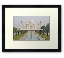 The Taj Mahal, Agra Framed Print