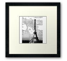 Sherlock black white 00001 Framed Print
