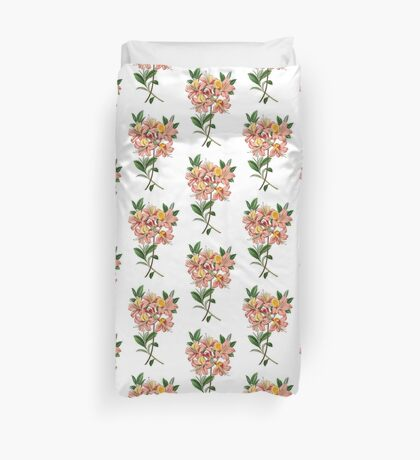 Pink Lily Duvet Cover