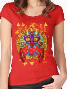 Majora's Fall Women's Fitted Scoop T-Shirt