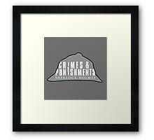 sherlock's Hat Framed Print