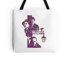 Sherlock Grapess colours Tote Bag