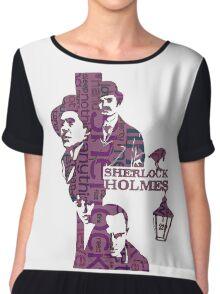 Sherlock Grapess colours Chiffon Top