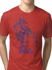 Sherlock Grapess colours Tri-blend T-Shirt