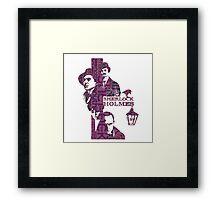 Sherlock Grapess colours Framed Print