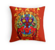 Majora's Fall Throw Pillow