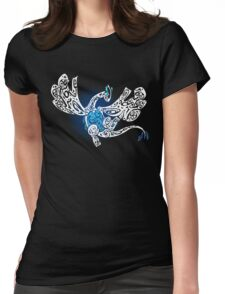 Lugia, Guardian of the Seas Womens Fitted T-Shirt