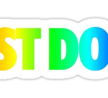Nike- Rainbow Just Do It Sticker
