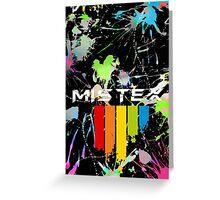 Mistex IPhone German Coat of Arms / Paint Splatter Greeting Card