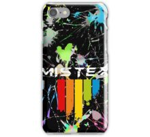 Mistex IPhone German Coat of Arms / Paint Splatter iPhone Case/Skin