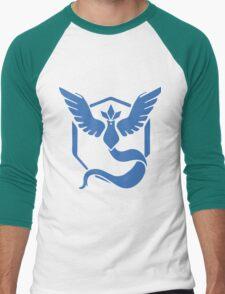 Team Mystic Pokemon Go Men's Baseball ¾ T-Shirt